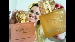 Perfumes Kiss Me Gold e Kiss Me Rosé Eudora lançamento