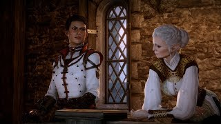 Dragon Age: Inquisition | Full Cassandra Cutscenes! - Circle Elf(True 60fps!!!) [Not Divine]