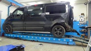 Nissan Primastar.  Обзор повреждений.
