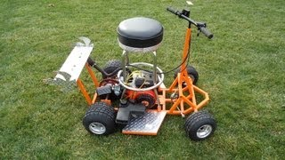 Mounting Front Spindles On A Bar Stool Racer By Www.barstoolracerplans.com