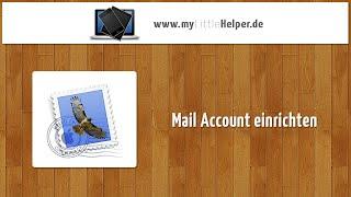 Mac OSX Mail - eMail Account einrichten