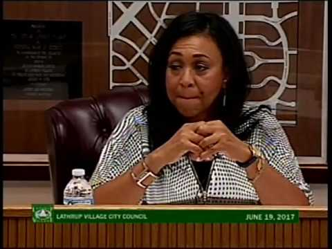 Lathrup Village City Council - June 19, 2017