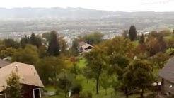 Wetter: Blick vom Dornbirner 'Oberfallenberg' ins Rheintal