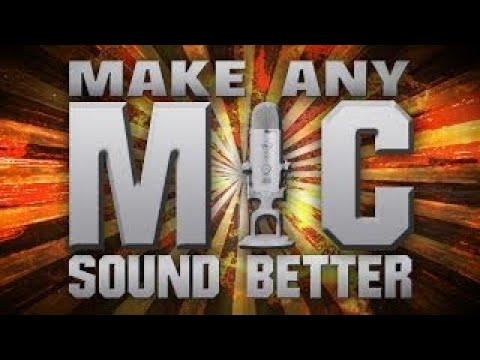 [TUTORIAL] How to Make any Microphone Sound better vesves More Professional with Adobe Audition