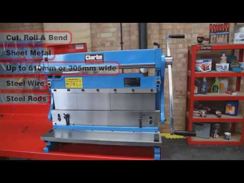Clarke 3 in 1 Universal Sheet Metal Machine