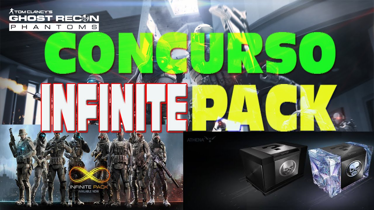 Ghost recon phantoms concurso infinite pack youtube