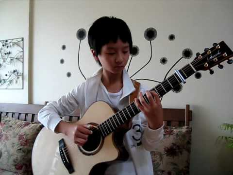 (J.S Bach) Minuet in Fingerstyle - Sungha Jung