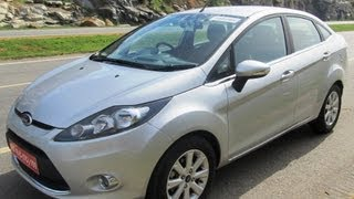 Ford Fiesta Sneak Preview By Car Blog India [HD]