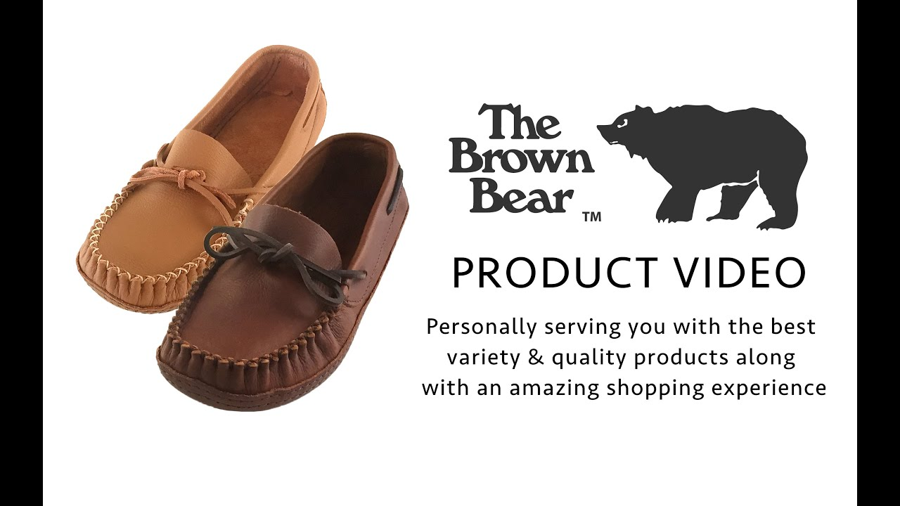 Mens Bedroom Slippers Wide Mens Wakonsun By Barbo Genuine Leather Wide Fit Moccasin Slippers