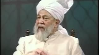 Liqa Ma'al Arab 19 July 1995 Question/Answer English/Arabic Islam Ahmadiyya