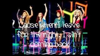 little mix tik tok push it lyrics x factor