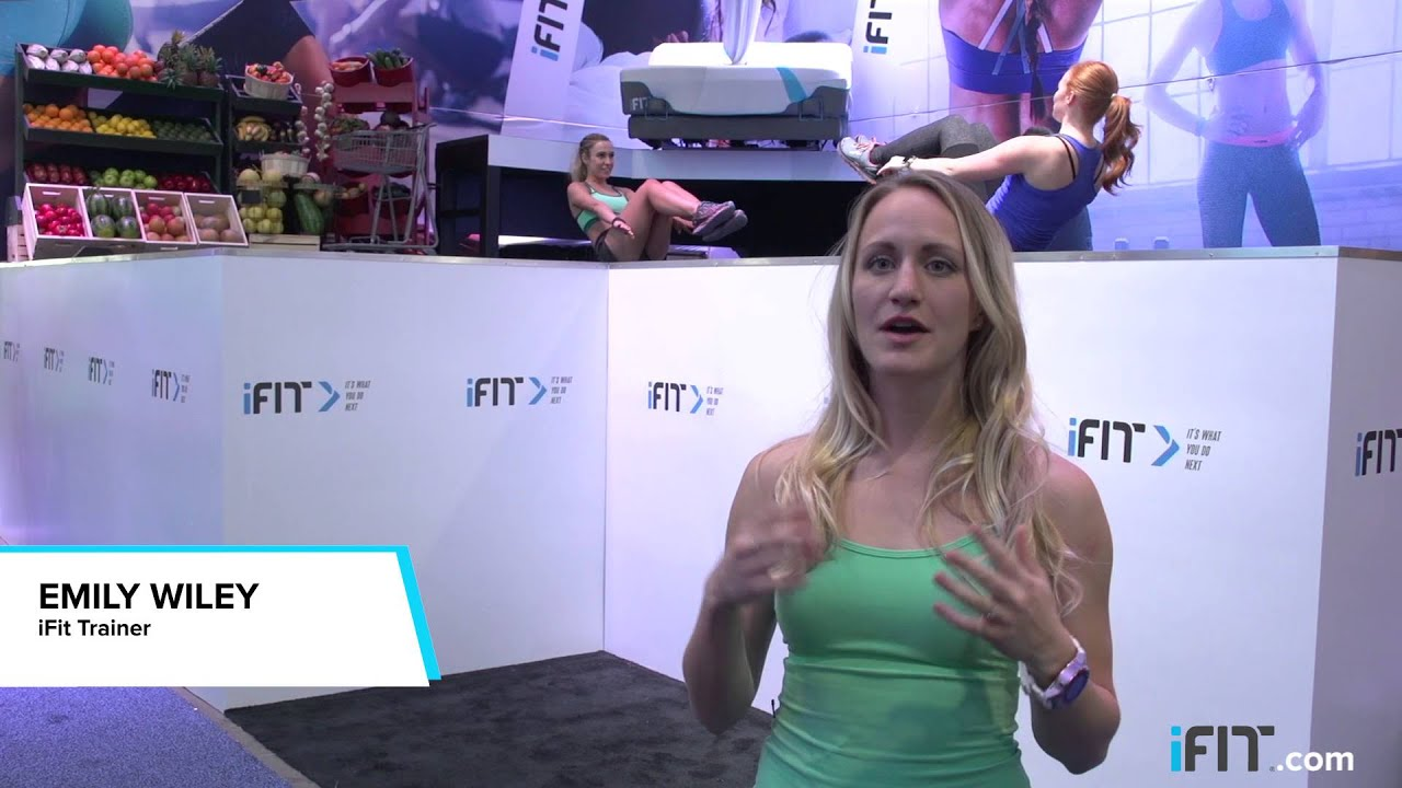 iFit at CES 2016 – Launch of iFit Coach