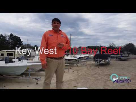 Key West 210 Bay Reef - Ocean Marine Group - Presented by Chad Davis