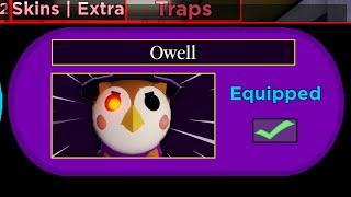 How To Unlock OWELL! (New Secret Piggy Skin) | Roblox Piggy Halloween Event New Update