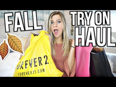 HUGE Fall Clothing Try On Haul!