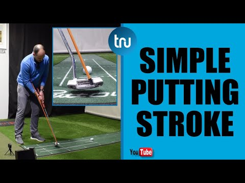 SIMPLE PUTTING STROKE – BETTER FACE CONTROL