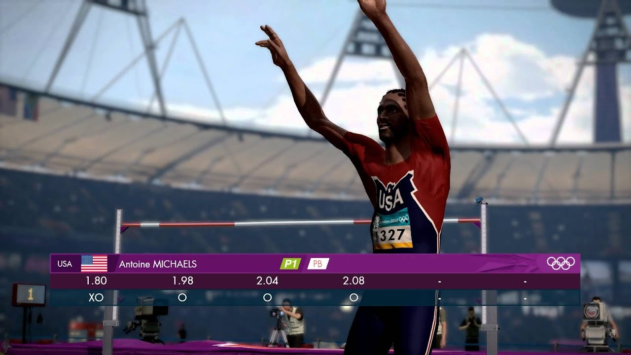 London 2012: The Official Video Game - Men's High Jump ...