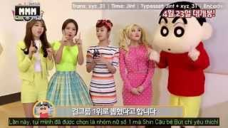"""[VIETSUB] Mamamoo Support Message for """"Crayon Shin-chan: Serious Battle! Robot Dad Strikes Back"""""""