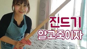 우리집 진드기 박멸 (침대 매트리스)