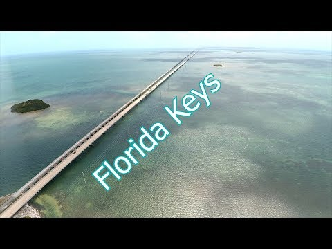 Florida Keys Overseas Hywy Mile Bridge Aerial