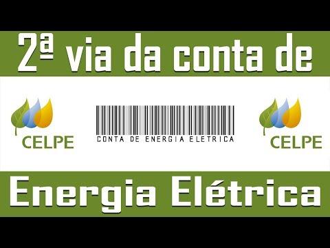 Como emitir 2ª via da conta de Energia Elétrica - Celpe