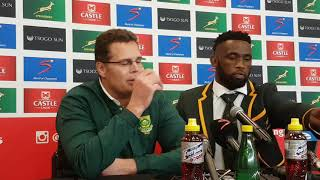 @Springboks coach Rassie Erasmus wasn't happy with his team's win over Argentina