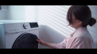 Samsung QuickDrive Washing Machine with Air Wash Technology