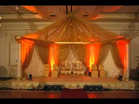 Simple Wedding party stage decoration YouTube