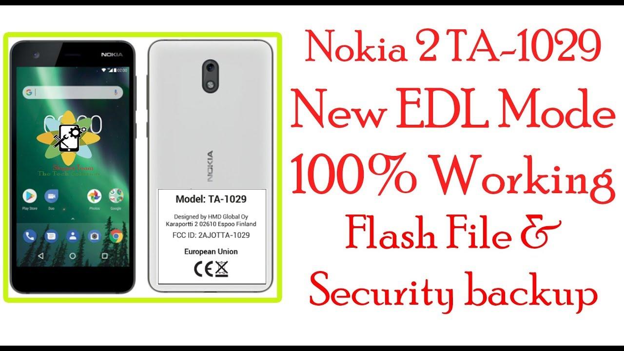 Nokia 2 Edl Mode Point