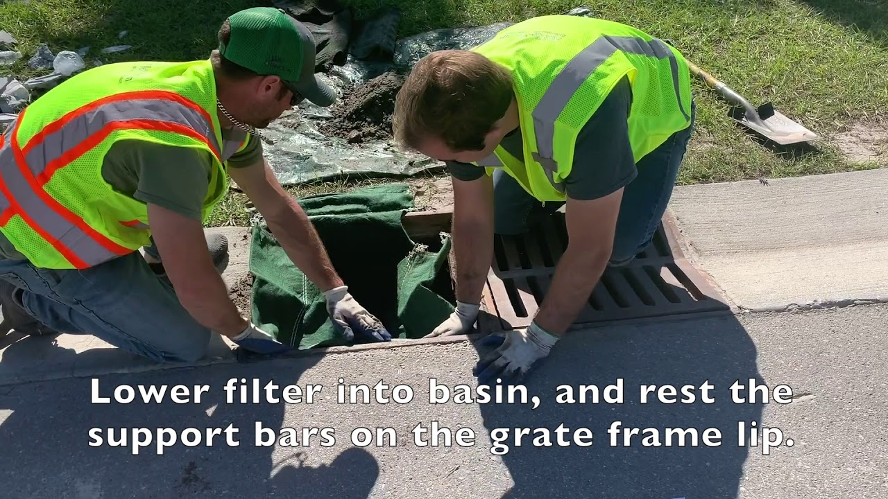 Replacing your Under-Grate NoFlood Filter