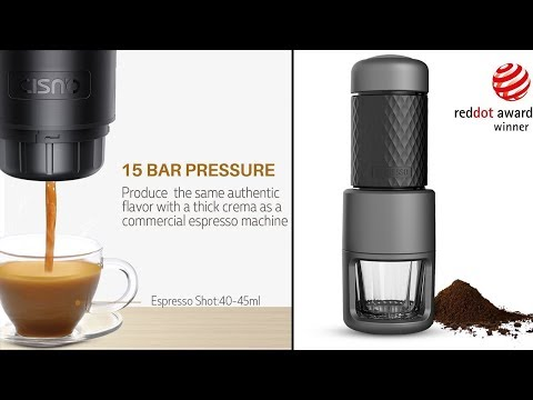 6 Best Coffee Makers On Amazon 2018 || Portable Coffee Makers For Best Travelling.