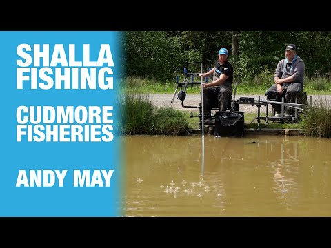 Shallow Fishing With Casters At Cudmore Fisheries - Andy May