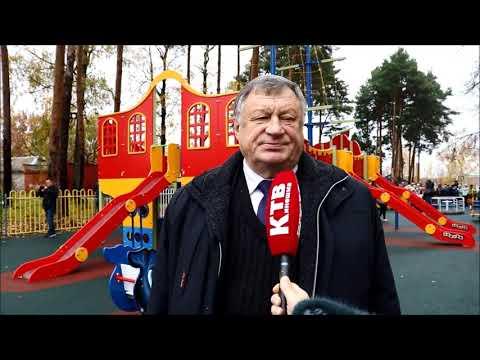 В Наволоках открылась современная детская площадка