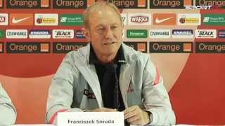 Euro 2012. Wielojęzyczny Smuda na konferencji prasowej