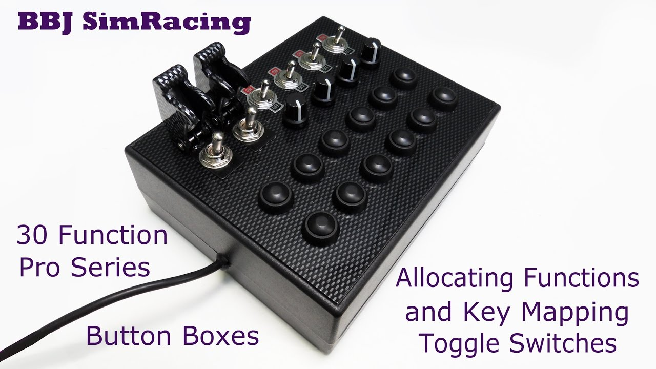 BBJ SimRacing Pro 30 Function Button Box. Allocating Functions and ...