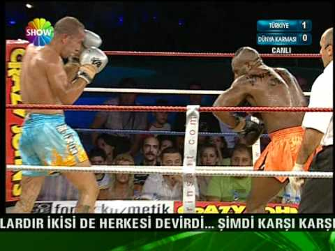 A1 Kick Box Head Hunter & Morand Mickael 3. Raund Tarık Solak