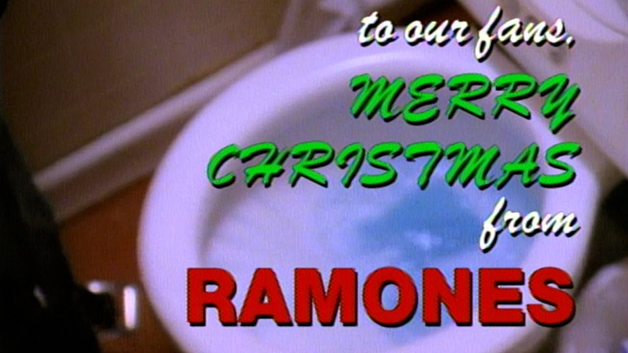 """3 - """"Merry Christmas (I Don't Want to Fight Tonight)"""", Ramones, 1989"""