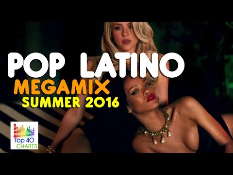 POP LATINO Summer 2016 MEGA MIX HD ★ Enrique Iglesias, Alvaro Soler, J Balvin