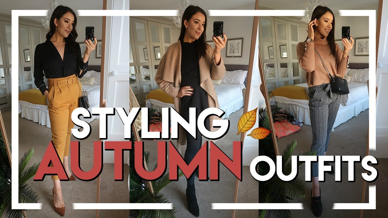 AUTUMN OUTFIT IDEAS | WHAT I WORE IN A WEEK