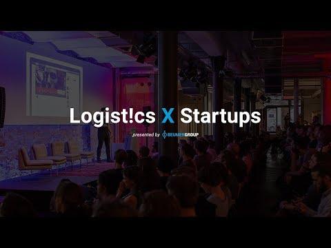 Logistics X Startups during BVL Deutscher Logistik Kongress