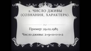 Урок 1. Ведическая нумерология по дате рождения. Число 1.