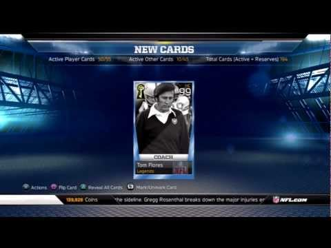 MUT 13: Opening Tom Flores with Live Reactions | Gene Upshaw 2 Star collection