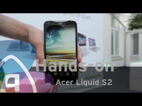 Acer Liquid S2 hands-on (Dutch)