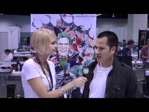 Anaheim Comic Con 2011 - Artist Alley # 16 - Dustin Nguyen