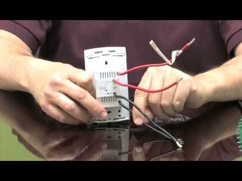 hqdefault wiring a floor heating thermostat for radiant systems youtube Honeywell Thermostat Wiring Diagram at readyjetset.co