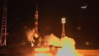 Deux Américains et un Russe décollent du Kazakhstan pour l'ISS