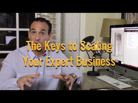 Keys to Scaling Your Expert Business - Mel Abraham