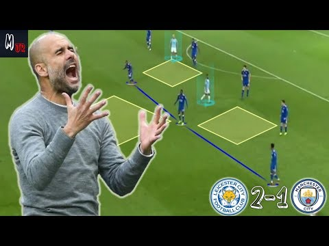 What Went Wrong For Man City Against Leicester City 2-1? Tactical Analysis