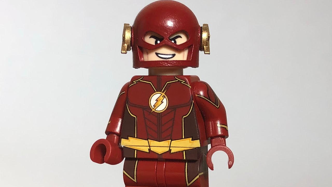 Lego Minifig Madness Cw Future Flash Minifigure Review Showcase