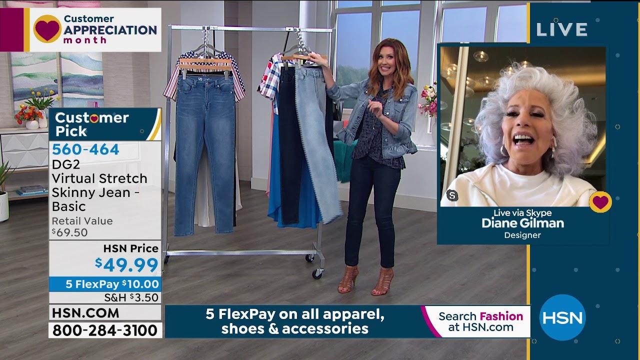 Hsn Diane Gilman Fashions 04 16 2020 11 Am Youtube